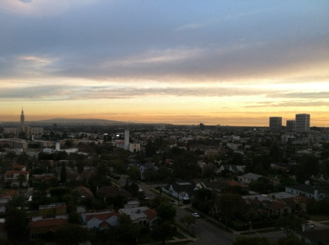 Sunset over Cali 2011