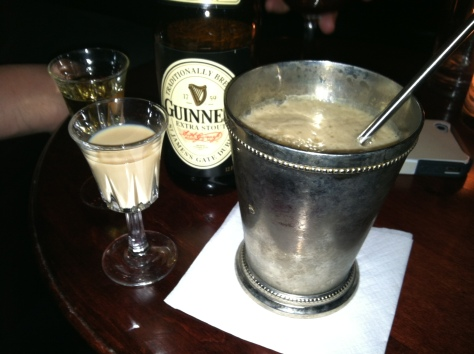The perfect Irish Car Bomb ;)
