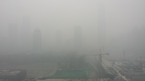 Beijing on a +500 pm2.5 Day