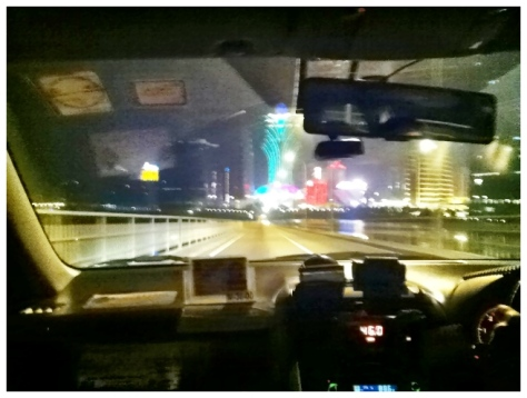 The cab ride over to StarWorld Casino